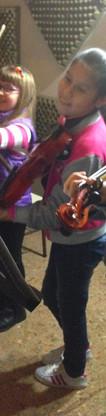 Alumnitas de violin