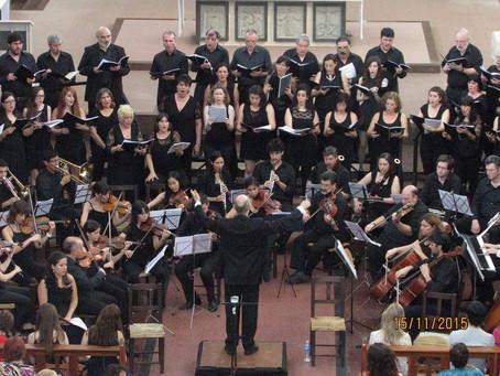 Concierto: Misa Op. 86 de Antonin Dvorak