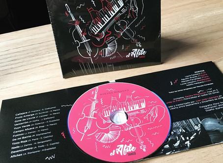 Nuevo CD con Adolfo Halsband Violin, del Afile Tango