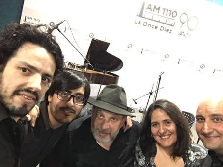 con El Afile Tango en la FM 2x4