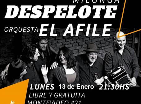 El afile tango 2020: Imperdible en Buenos Aires, EL DESPELOTE