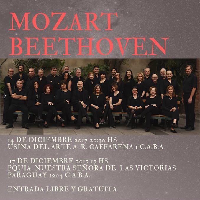 , la Missa de Beethoven en la Iglesia las Victorias