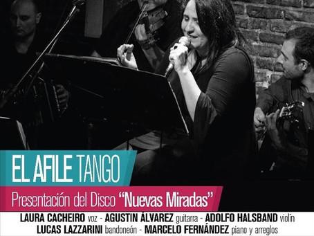 5 de Junio Presentación del CD de tango El Afile, Los esperamos