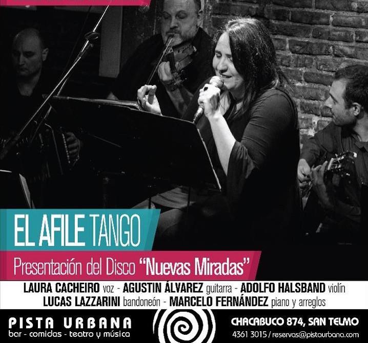 grupos destacados de tango argentino Adolfo Halsband