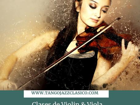 Clases Online de Violin & Viola