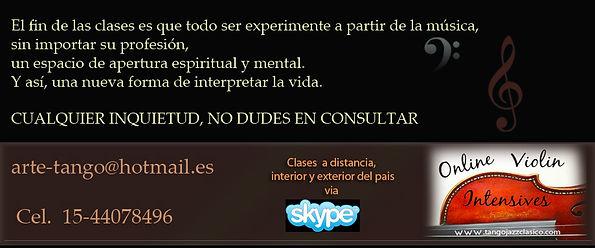 clases de violin online por skype