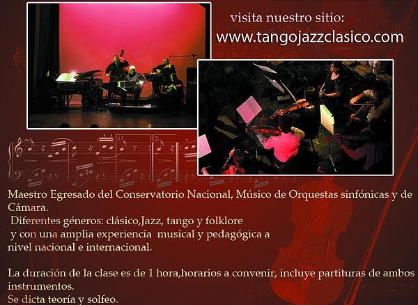 curso de vilin, viola, cello