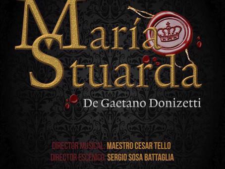 """""""María Stuarda"""" en Junio, Teatro Luz y Fuerza. Los Espero!"""