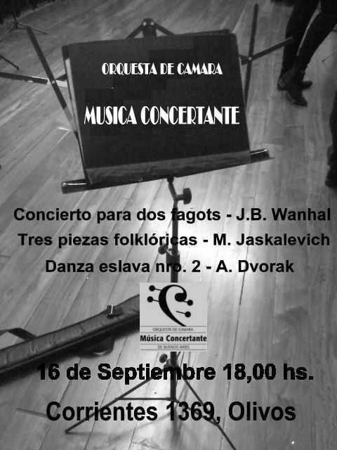 Orquesta Musica Concertante Adolfo Halsband