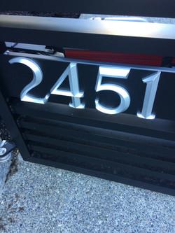 11.Raised custom numbers