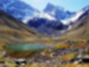 Morado National Monument is one of top 10 hiking trails close to Santiago Chile. Only 93 km to capital of Chile. The best wonderful views of the Andes Mountain range.