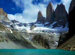 Torres del Paine en el South Chile
