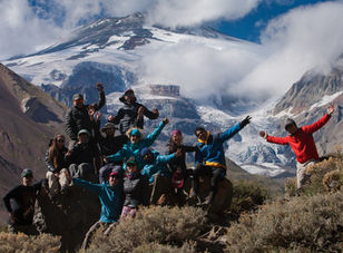 Trekking Glaciar Nieves Negras
