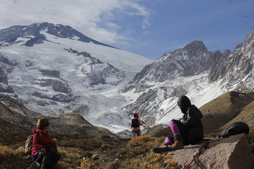 hiking trail santiago chile
