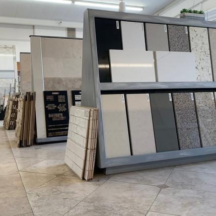 Quartz, Marble & Granite samples