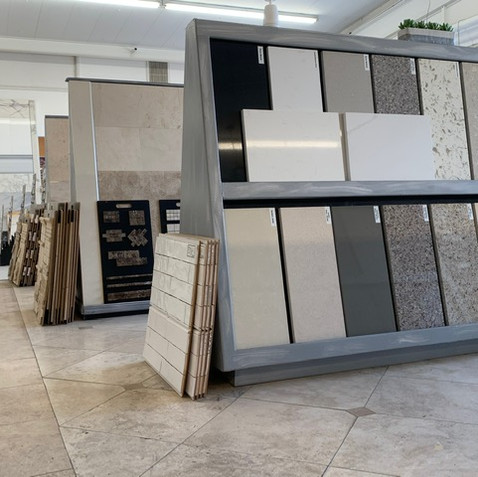Quartz, Marble & Granite samples