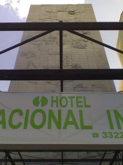 Hotel Nacional Inn Fachada Acrílicos Curitiba