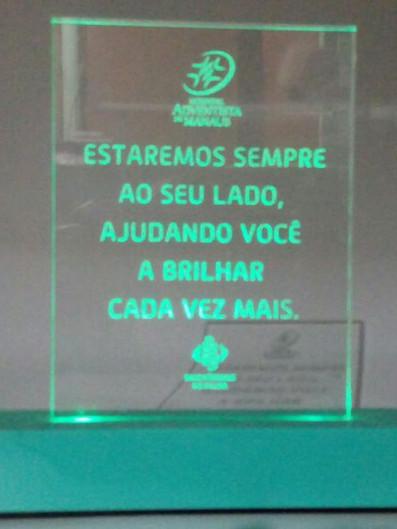 Troféu Acrílicos Curitiba