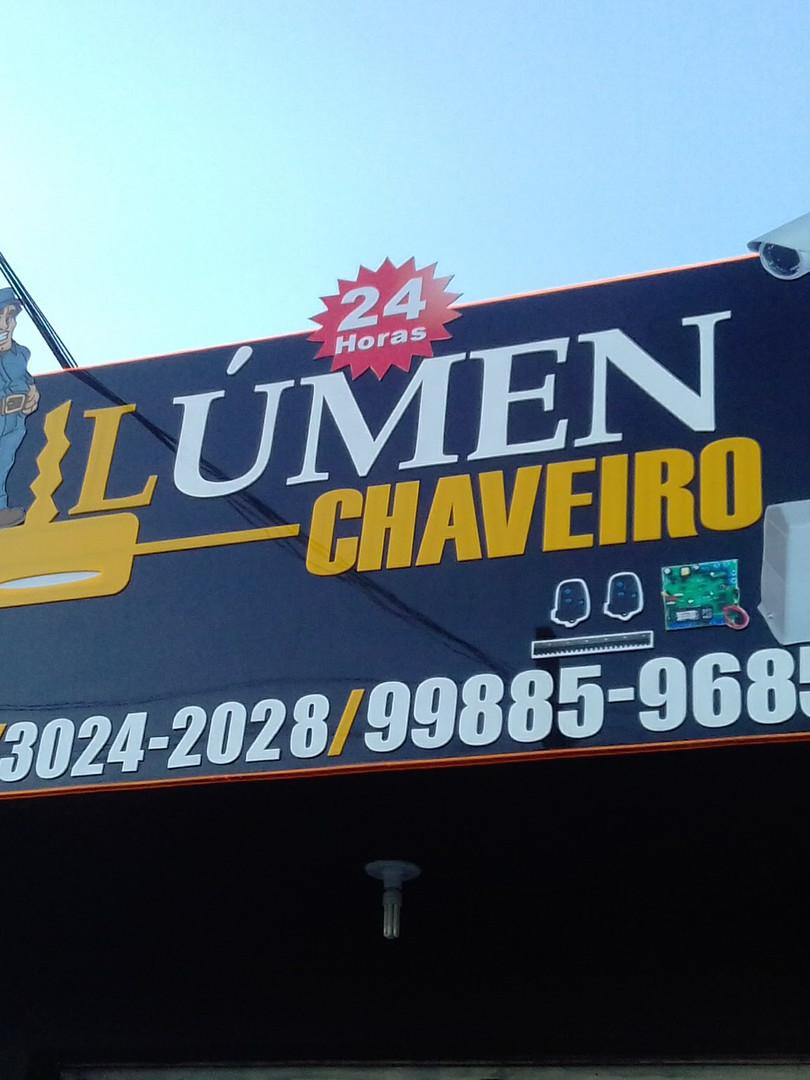 Lúmen Chaveiro Fachada Acrílicos Curitiba