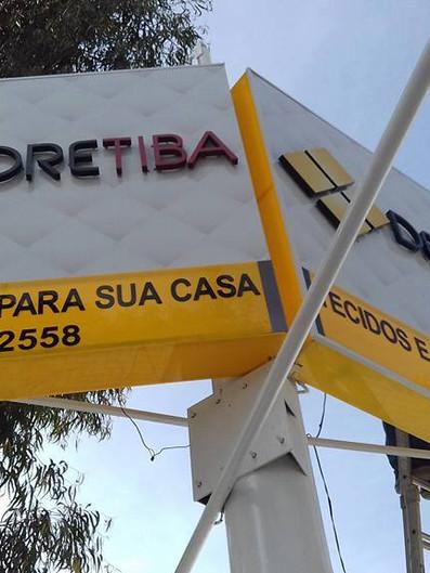 Decoretiba Fachada Acrílicos Curitiba