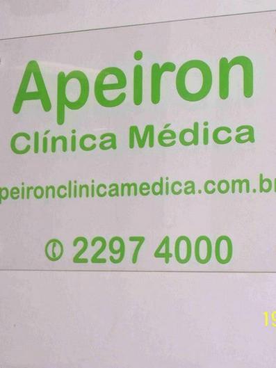 Apeiron Clínica Médica Placas Acrílicos Curitiba
