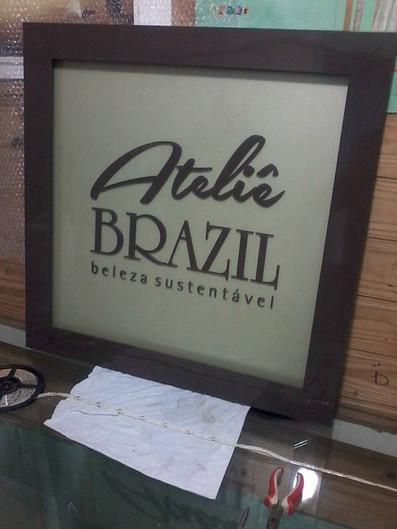 Ateliê Brazil Placas Acrílicos Curitiba
