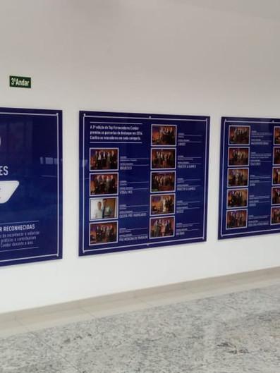 Condor Comunicação Interna Acrílicos Curitiba