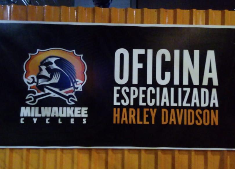 Harley Davidson Placas Acrílicos Curitiba