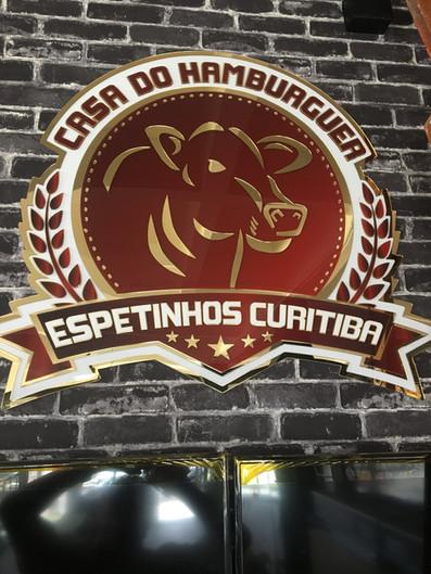 Espetinhos Curitiba Fachada Acrílicos Curitiba
