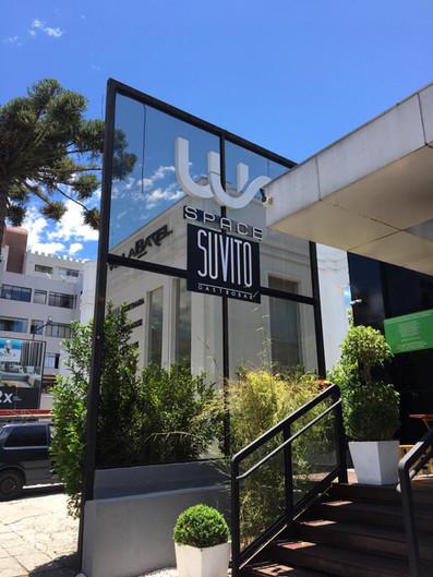 WS e Suvito Fachada Acrílicos Curitiba