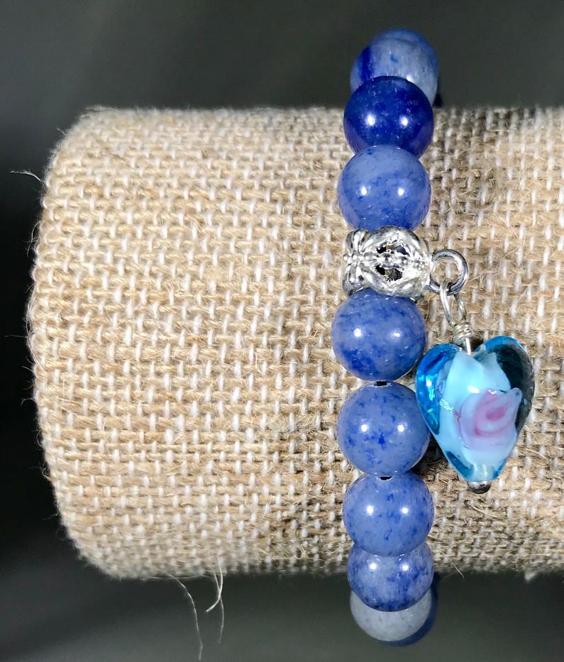 Sweetheart bracelet blue - Extraordinary