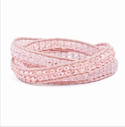 Posh Pink Wrap Bracelet