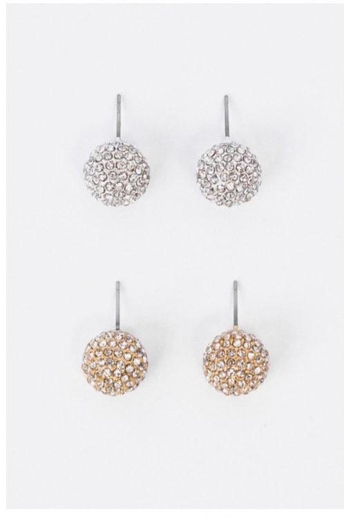Sparkle Stud Julyenne Earrings