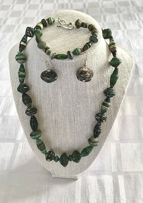 Handmade Kenyan Jewelry Sets