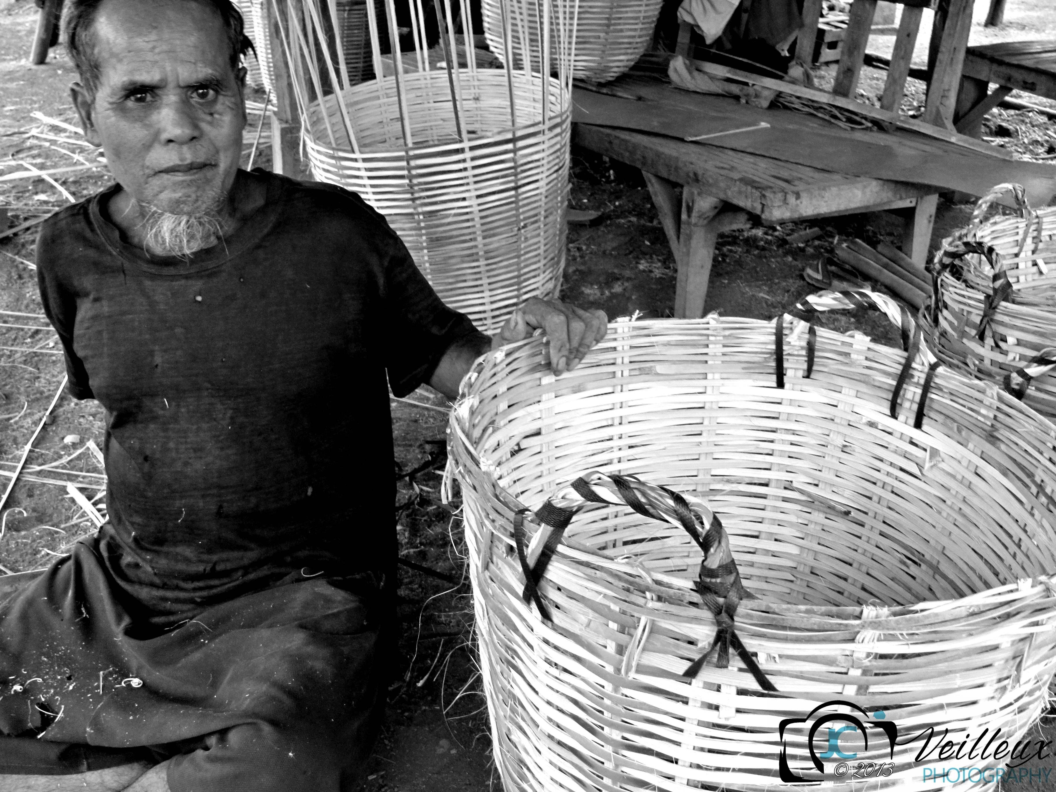 Basket Weaver No. 1