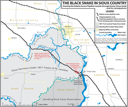 Dakota Access Pipeline Routes
