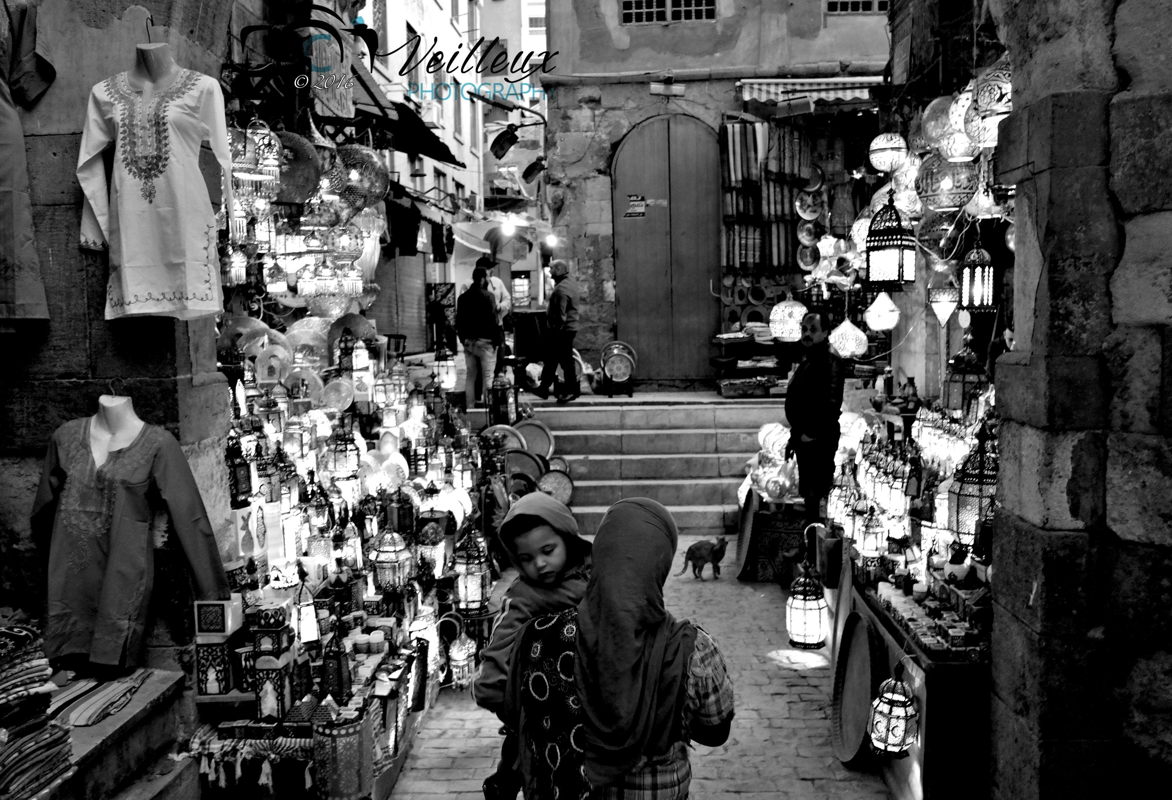 Cairo Market at Night