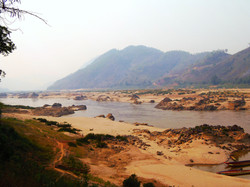 Wild Stretch of Mekong River