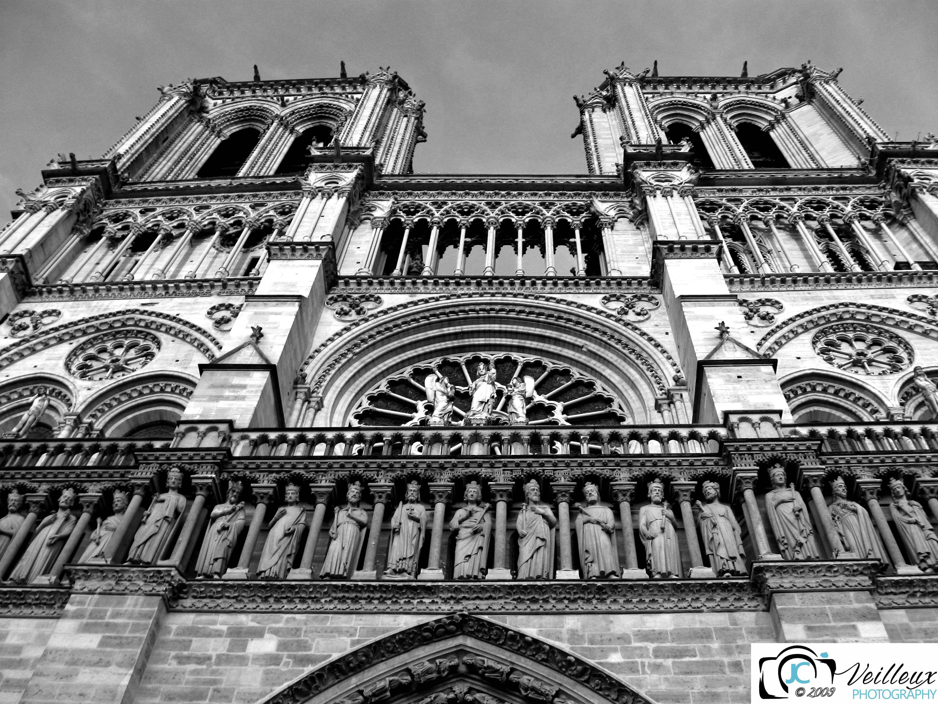 Notre Dame Cathedral No. 1