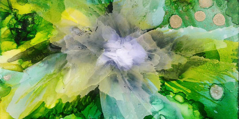 WORKSHOP: INTRODUCTION TO ALCOHOL INK PAINTING FOR BEGINNERS