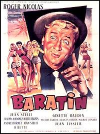 "Affiche du film ""Baratin""."