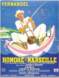 """Affiche du film """"Honoré de Marseille""""."""