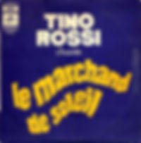 """Pochette du vinyle du """"Marchand de Soleil""""."""