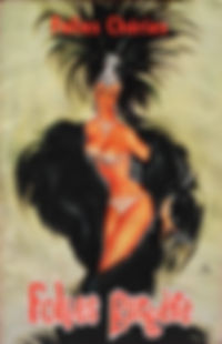 """Couverture du programme de la revue """"Folies Chéries""""."""