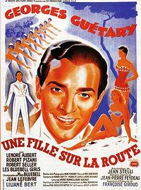 """Affiche du film """"Une Fille sur la Route""""."""