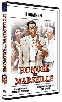 """DVD du film """"Honoré de Marseille"""""""
