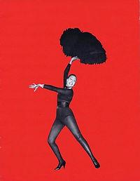 """Couverture du programme de la revue """"Paris mes Amours""""."""