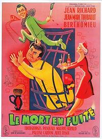 """Affiche du film """"Le Mort en Fuite""""."""
