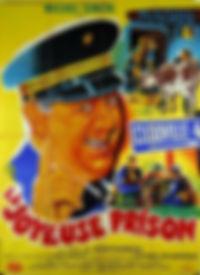 """Affiche du film """"La Joyeuse Prison""""."""