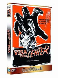 "DVD du film ""Visa pour l'Enfer""."